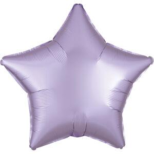Amscan Fóliový balón hviezda satén - svetlofialový
