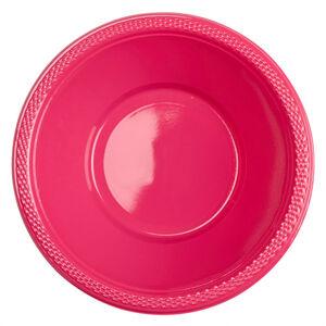 Amscan Misky plastové magenta 10 ks