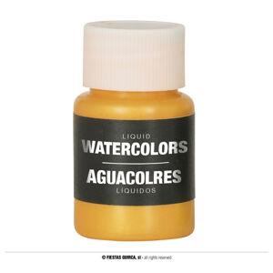 Guirca Farba na báze vody 28 ml - rôzne farby Farba: zlatá