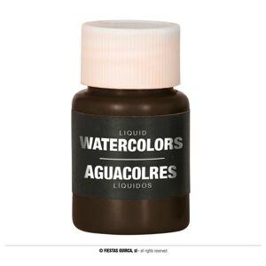 Guirca Farba na báze vody 28 ml - rôzne farby Farba: hnedá