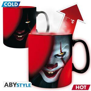 ABY style Hrnček reagujúci na teplo Pennywise IT 460 ml