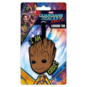 Štítok na batožinu Strážcovia Galaxie - Groot