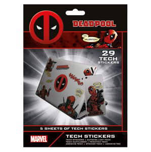 Pyramid Set nálepiek Deadpool 29 ks