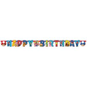 Amscan Banner - Super Mario 190 x 15 cm