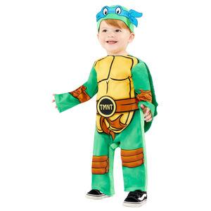 Amscan Detský kostým pre najmenších - TMNT Ninja Korytnačky Veľkosť najmenší: 18 - 24 mesiacov
