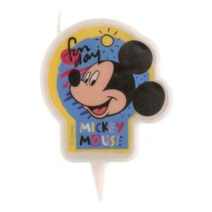 Dekora Narodeninová sviečka - Mickey Mouse 7,5 cm