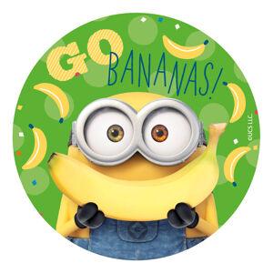 Dekora Jedlý papier - Mimoni Bananas 20 cm