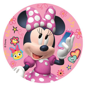 Dekora Jedlý papier bez cukru - Minnie Mouse 16 cm