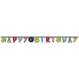 Amscan Jumbo banner - Happy Birthday mix 320 cm