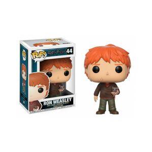 Figúrka Funko POP! Ron Weasley with Scabbers 9 cm