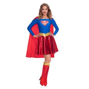Amscan Dámsky kostým - Supergirl Classic Veľkosť - dospelý: L