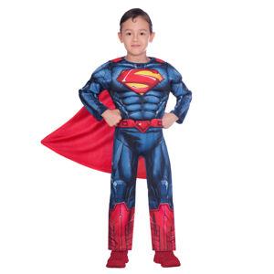 Amscan Detský kostým - Superman Classic Veľkosť - deti: 8 - 10 rokov