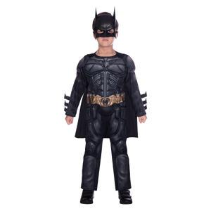 Amscan Detský kostým - Batman Čierny Rytier Veľkosť - deti: 8 - 10 rokov