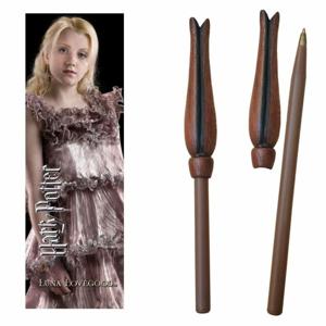 Noble Prútikové pero a záložka Luna Lovegood