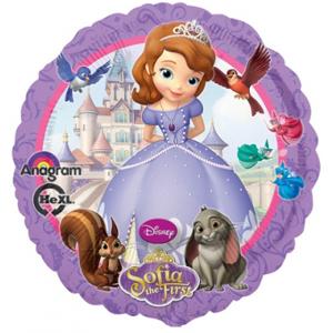 BP Fóliový balón - Princezná Sofia kruh