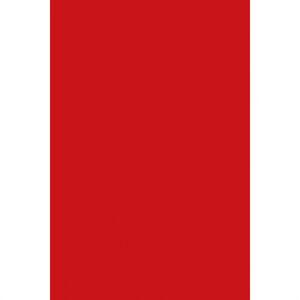 Amscan Obrus plastový červený 137 x 274 cm