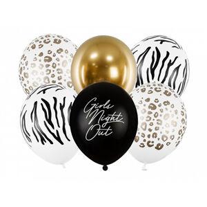 PartyDeco Latexové balóny - Girls Night Out 6 ks