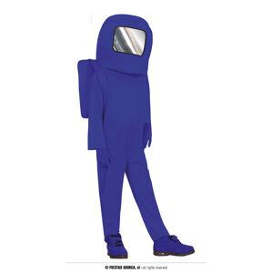 Guirca Detský kostým - Among US modrý Veľkosť - deti: XL