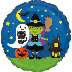 Amscan Fóliový balón - Halloween Crew
